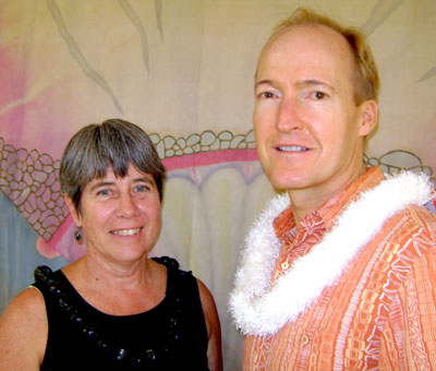 Helen Cox and Eric Knutzen
