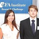 Finance team makes final four in competition
