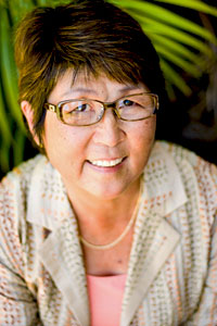 Head shot of Marcia Sakai