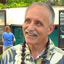 UH Manoa Chancellor Tom Apple tours arboretum, lo'i and aquarium