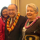 Hawaii congressional team honors UH delegation