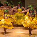 Hawaii CC halau performs at Library of Congress