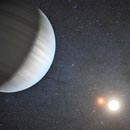 Astronomers discover two planets orbiting a two-star system