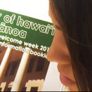 UH Manoa students receive warrior's welcome