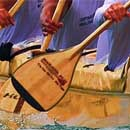 Hamilton Library features paddling art exhibit