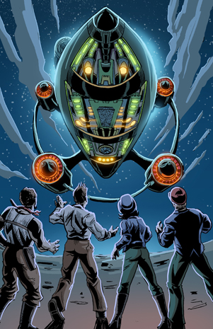 The Intergalactic Nemesis Live-Action Graphic Novel Book One: Target Earth will be at UH Hilo on January 11 and at UH Manoa on January 12, 2013