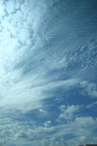 Clouds over the Pacific (image courtesy Shang-Ping Xie)