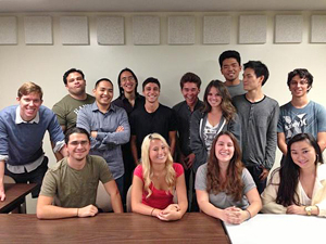 UH Manoa debate team