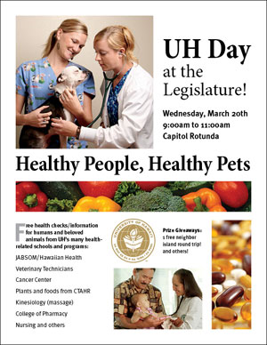 UH Day flyer