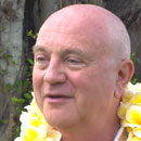 Windward chancellor shaves head for the hungry