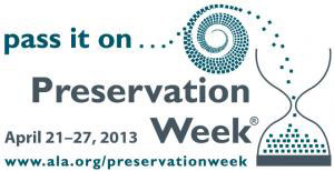 Preservation week logo
