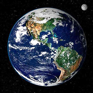 Earth from space (photo credit NASA)