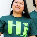 T-shirts designed by students show HI pride