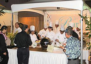 The Pearl culinary students at the ʻIlima Awards.