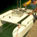 Robotic vessel helps in times of disaster