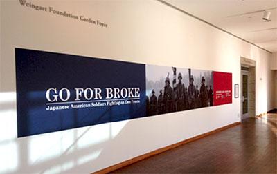 Go For Broke gallery exhibit