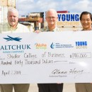 Saltchuk funds Shidler College of Business scholarship