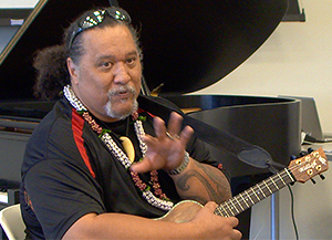 Willie K at the University of Hawaiʻi–West Oʻahu Summer Music Works program