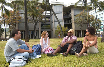 University of Hawaiʻi students