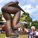 Kauaʻi CC sculpture encourages students to holomua