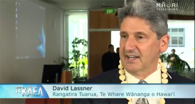 UH leaders join Polynesian Voyaging Society for New Zealand educational summit