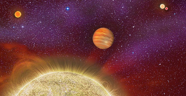 quadruple star system with planets - photo #18