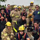 Honolulu CC fire students perform auto extrication skills training