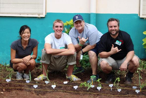 Public school gardens and sustainable health result of UH teamwork