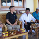 UH faculty received by Sultan of Tidore