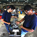 Training the future workforce of automotive technicians