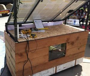 solar cart back