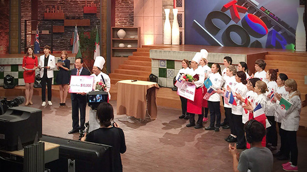 Chef instructor wins international Global Taste of Korea competition