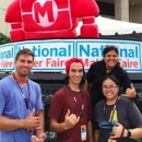 UH students showcase their inventions at National Maker Faire in Washington D.C.