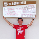 UH Bookstores donate $25K to student scholarships
