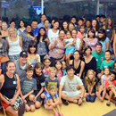 UH Hilo international students meet with host families