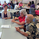 Retired teachers share their wisdom with UH Hilo teacher candidates