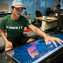 Student builds enormous iPad-like table device