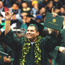 Fall commencement celebrations at West Oʻahu, Hilo and Mānoa