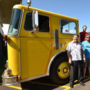 Fire trucks create hot educational experiences for UH fire science students on two islands