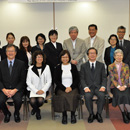 UH librarians visit university partners in Okinawa