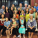UH Hilo College of Hawaiian Language honors scholarship founders and donors