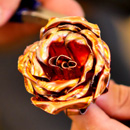Honolulu CC sheet metal students craft forever roses