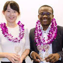 Malaria researcher wins Manoa's first Three-Minute Thesis competition