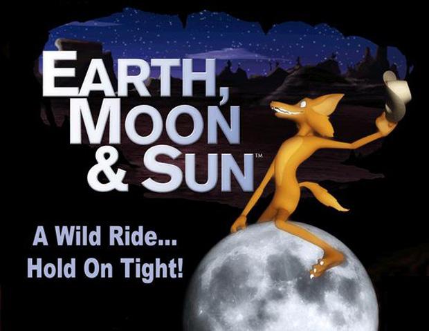 Earth, Moon and Sun flyer