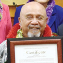 Longtime Leeward educator Ernie Libarios honored by Honolulu City Council