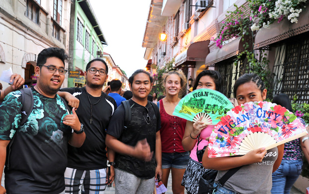 students in Vigan
