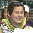 Make-A-Wish teen shoots hoops and dons white coat at UH Mānoa