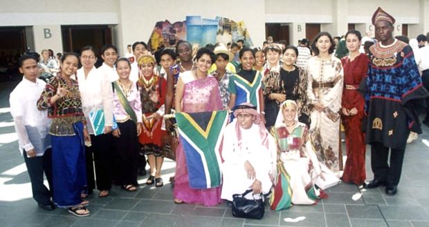 international group of people