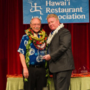 John Morton inducted into to Hawaiʻi Restaurant Association Hall of Fame