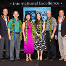 Local and international business leaders honored by Shidler College of Business